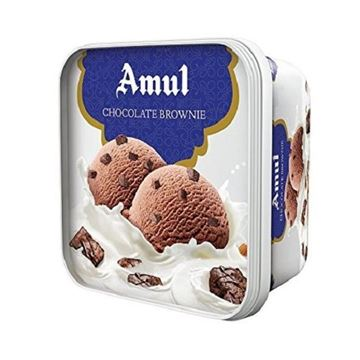 Picture of Amul Ice Cream Chocolate Brownie Tub (Chilled)