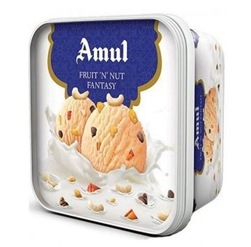 Picture of Amul Ice Cream Fruit N Nut Fantasy Tub  (Chilled)
