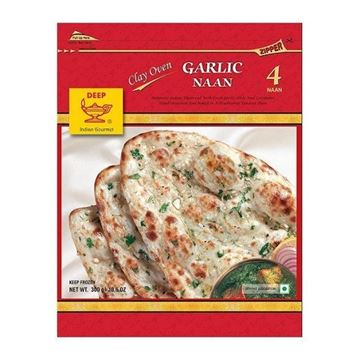 Picture of Deep Foods Garlic Naan (Chilled)