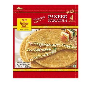 Picture of Deep Foods Paneer Paratha (Chilled)
