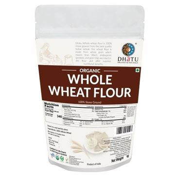 Picture of Dhatu Whole Wheat Flour (Certified ORGANIC)