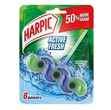 Picture of Harpic Wave Active Fresh Mountain Pine Toilet Bowl Cleaner