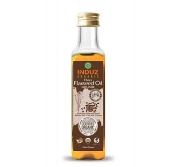 Picture of Induz Organics Flexi FlaxSeed Oil (Cold Pressed) (Certified ORGANIC)