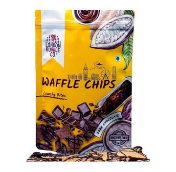 Picture of London Bubble Co Dark Chocolate  Waffle Chips
