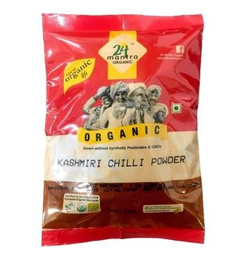 Picture of 24 Mantra Kashmiri Red Chilli Powder (Certified ORGANIC)