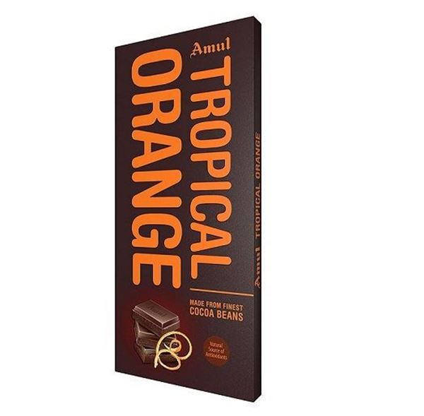 Picture of Amul Tropical Orange Chocolate Bar
