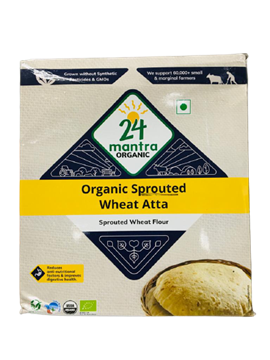 Picture of 24 MANTRA Sprouted Wheat Atta (Certified ORGANIC)